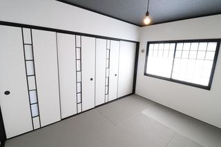 プレジデント皇神和室塗装�@.JPG