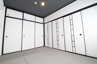 プレジデント皇神和室塗装�A.JPG
